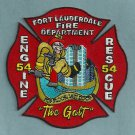Fort Lauderdale Fire Department Engine 54 Rescue 54 Company Patch