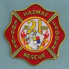 Jacksonville Fire Department Station 21 Company Patch
