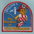 Fort Wayne Fire Department Engine Company 5 Patch