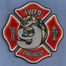 Fort Wayne Fire Department Engine Company 9 Patch