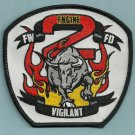 Fort Wayne Fire Department Engine Company 2 Patch