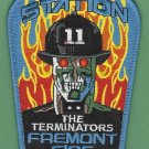 Fremont Fire Department Station 11 Company Patch