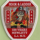 Hewlett Fire Department Hook & Ladder Company 3 Patch