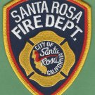Santa Rosa California Fire Patch