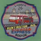 Boston Fire Department Ladder Company 27 Fire Patch