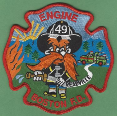 Boston Fire Department Engine Company 49 Fire Patch