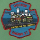 Boston Fire Department Engine Company 37 Fire Patch