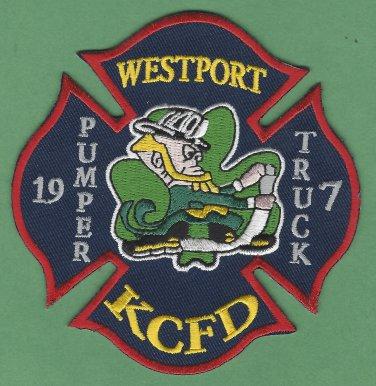 Kansas City Fire Department Pumper 19 Truck 7 Fire Patch