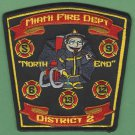 Miami Fire Department Division 2 Company Patch