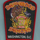 District of Columbia Fire Department Engine Company 27 Fire Patch