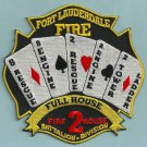 Fort Lauderdale Fire Department Station 2 Company Patch