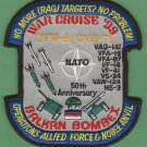 CVN-71 USS THEODORE ROOSEVELT 1999 OPERATION ALLIED FORCE PATCH