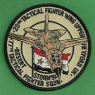 USAF 77TH TACTICAL FIGHTER SQUADRON OPERATION DESERT STORM PATCH