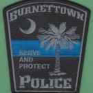 Burnettown South Carolina Police Patch