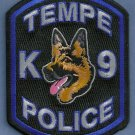 Tempe Arizona Police K-9 Unit Patch