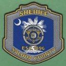 Saluda County Sheriff South Carolina Police Patch