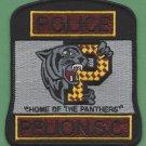 Pelion South Carolina Police Patch