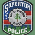Soperton Georgia Police Patch