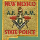 New Mexico State Police Masonic Lodge Patch