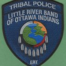 Little River Band of Ottawa Indians Michigan Tribal Police ERT Patch