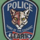Leary Georgia Police Patch