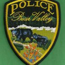 Bear Valley California Police Patch 2 Bears