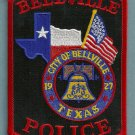 Belleville Texas Police Patch