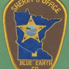 Blue Earth County Sheriff Minnesota Police Patch