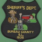 Bureau County Sheriff Illinois Police Patch