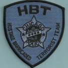 Chicago Illinois Police Terrorist Hostage Team Patch