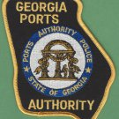 Georgia Port Authority Police Patch