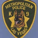 Las Vegas Nevada Police K-9 Unit Patch