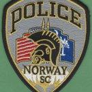 Norway South Carolina Police Patch