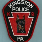 Kingston Pennsylvania Police K-9 Unit Patch