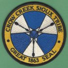 Crow Creek Sioux Tribal Seal Patch