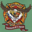 Chicago Fire Department Hazardous Materials Company 512 Patch