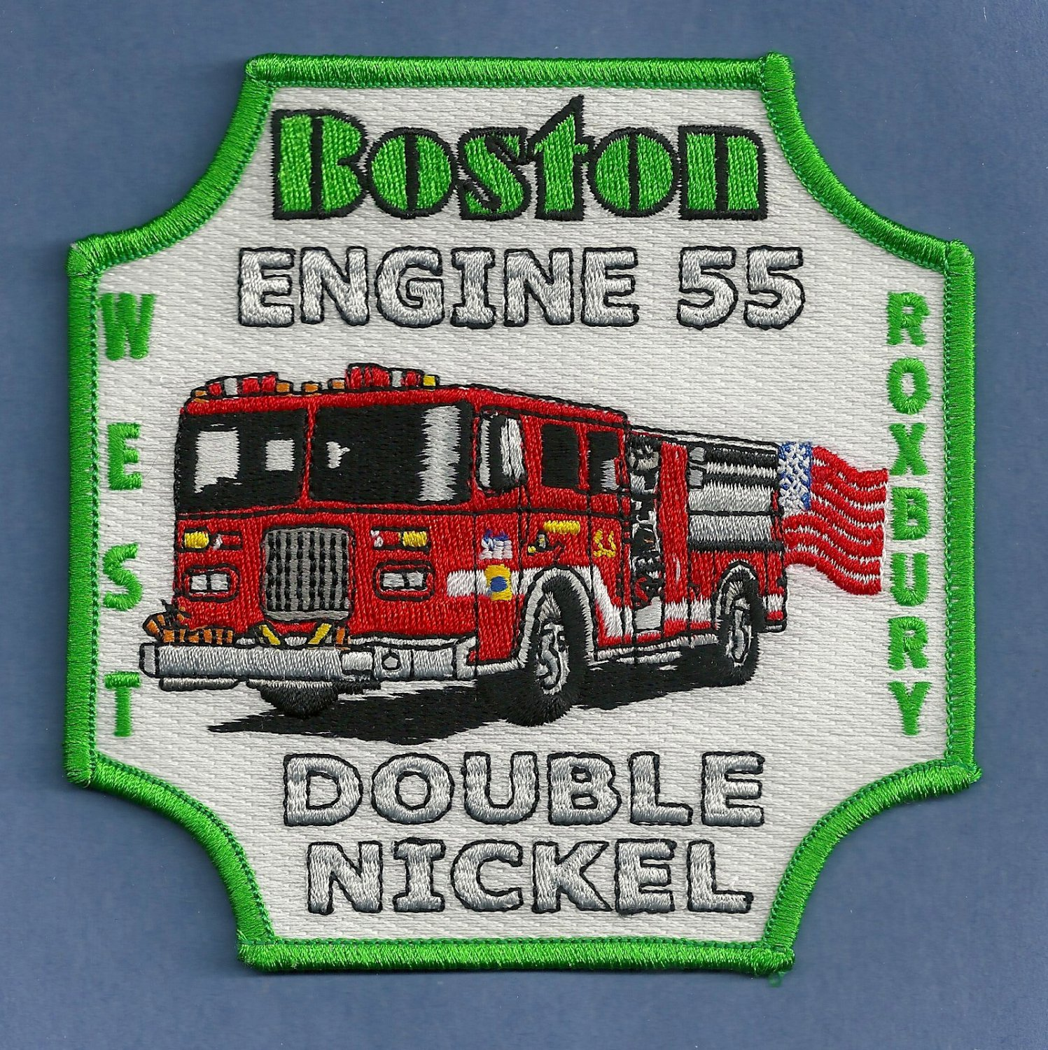 Boston Fire Department Engine Company 55 Fire Patch