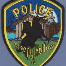 Sleepy Hollow Illinois Police Patch