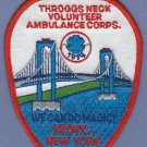 THROGGS NECK BRONX VOLUNTEER AMBULANCE CORPS FIRE PATCH