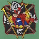 Fort Wayne Fire Department Station 11 Company Patch Yosemite Sam