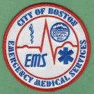 Boston EMS Emergency Medical System Paramedic Patch
