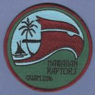 U.S. Air Force 199th Fighter Squadron F-22 Hawaiian Raptors Patch