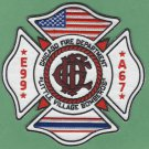 Chicago Fire Department Engine Company 99 Fire Patch