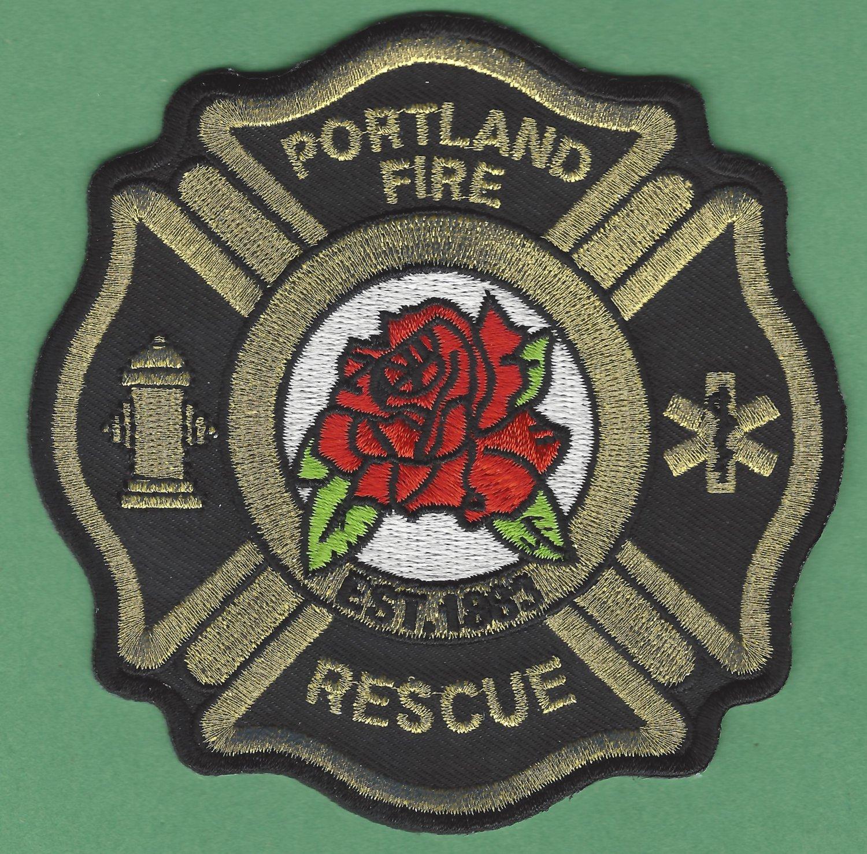 Portland Oregon Fire Rescue Patch