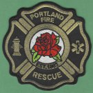 Portland Oregon Fire Rescue Patch