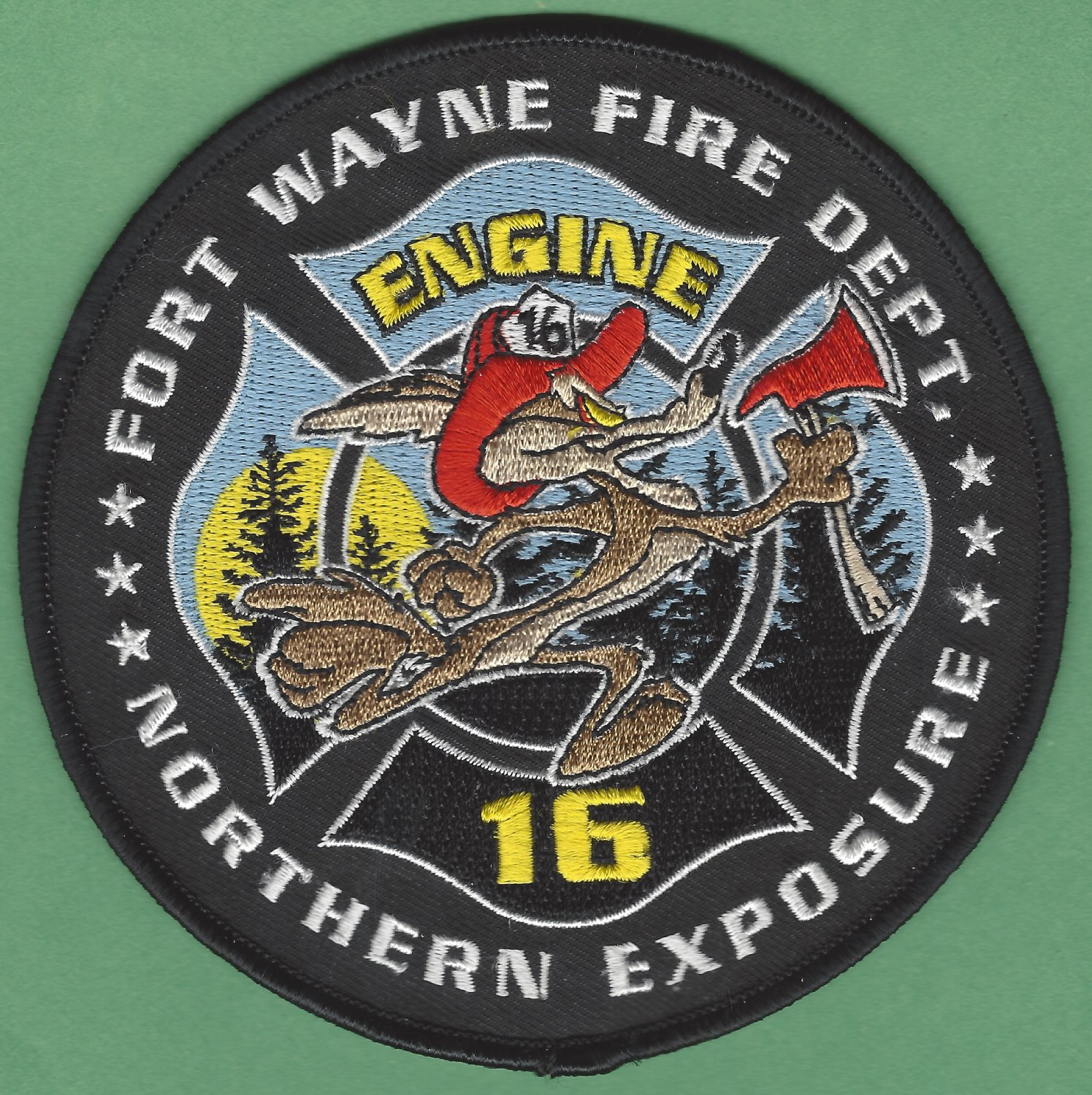 Fort Wayne Fire Department Engine Company 16 Patch