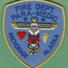 Anchorage Alaska Fire Rescue Paramedic Patch