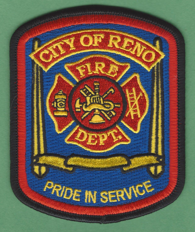 Reno Nevada Fire Rescue Patch