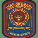 Reno Nevada Fire Rescue Patch