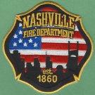 Nashville Tennessee Fire Rescue Patch